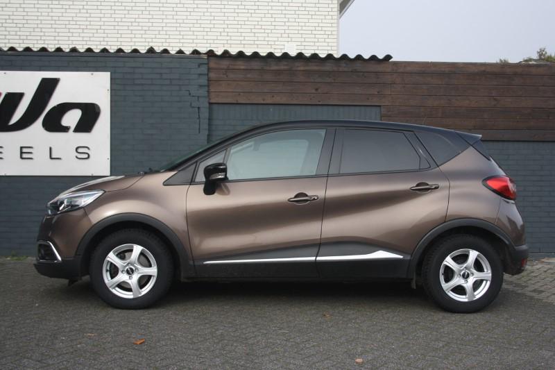 Renault Captur Met Oxxo Narvi Silver Velgen Giva Wheels