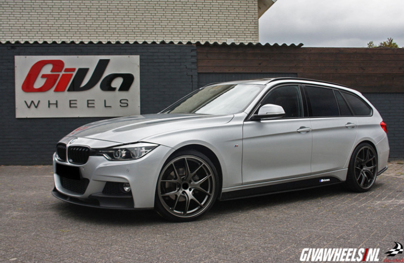 Bmw 3 Serie Met Devoted Wheels Fine Spoke Matt Gunmetal