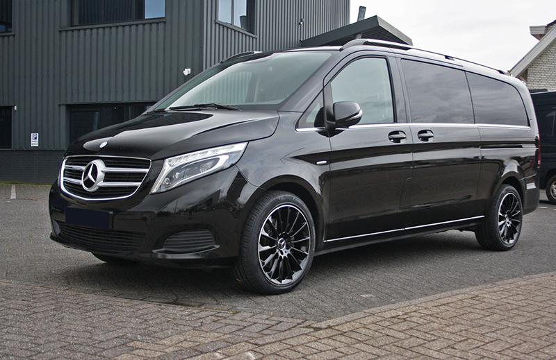 Wonderbaar Mercedes-Benz Vito met GMP Stellar Black with polished lip velgen PV-74