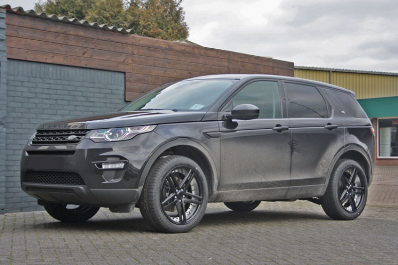 Land Rover Discovery Met Axe Ex20 Black With Polished Barrel