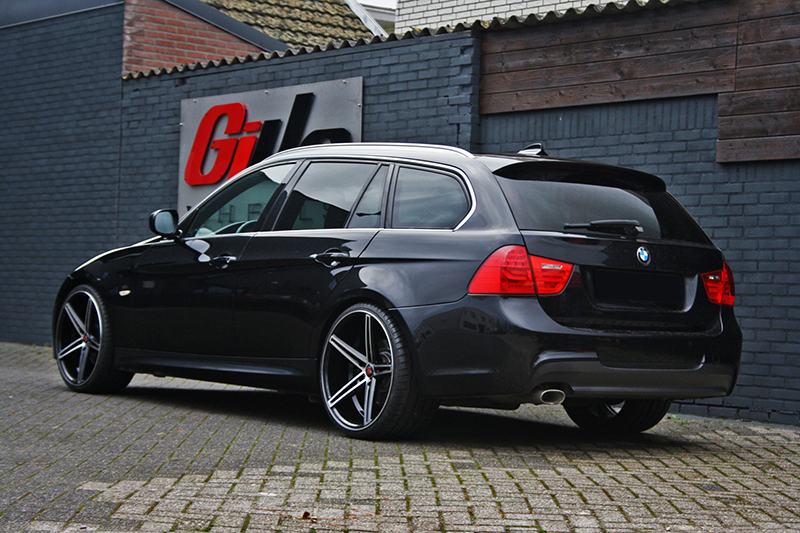 Bmw 3 Serie Met Axe Ex14 Black With Polished Face Velgen
