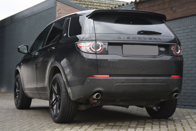 Land Rover Discovery Sport Met Axe Ex20 Black With Polished