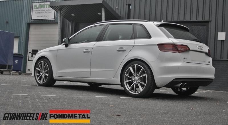 Audi Met Fondmetal Velgen Giva Wheels Bv Velgen En Banden