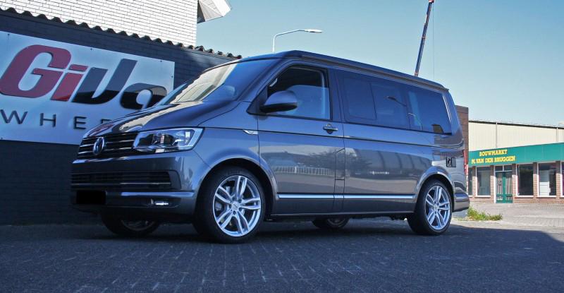 Beste Volkswagen Transporter met ATS Evolution Silver velgen | Giva LW-04