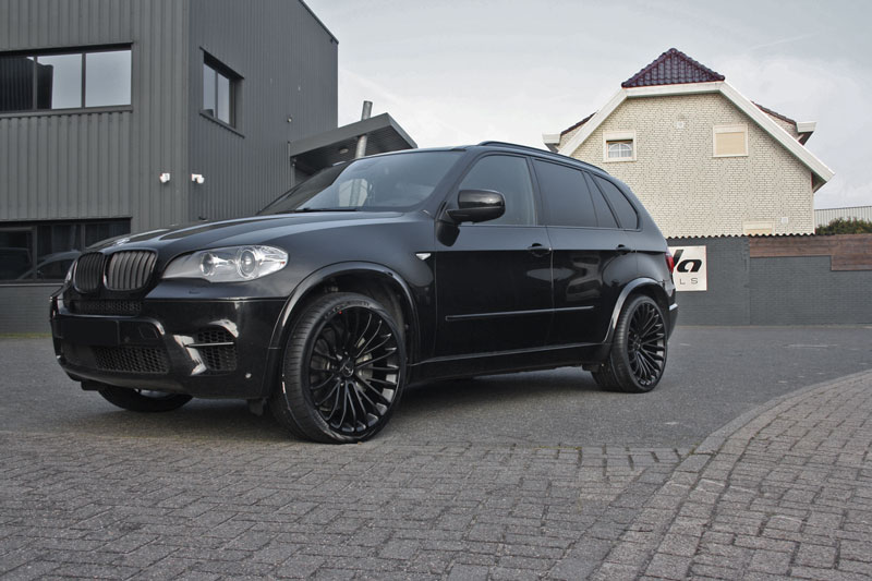 Bmw X5 Met Breyton Race Ls Black Velgen Giva Wheels Bv