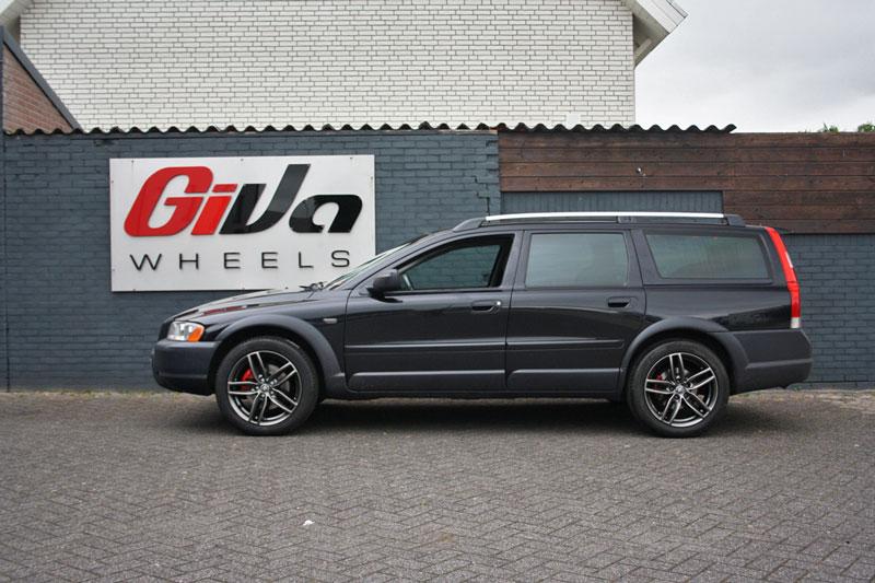 Volvo V60 Met Rc Design Rc29 Dark Sparkle Velgen Giva