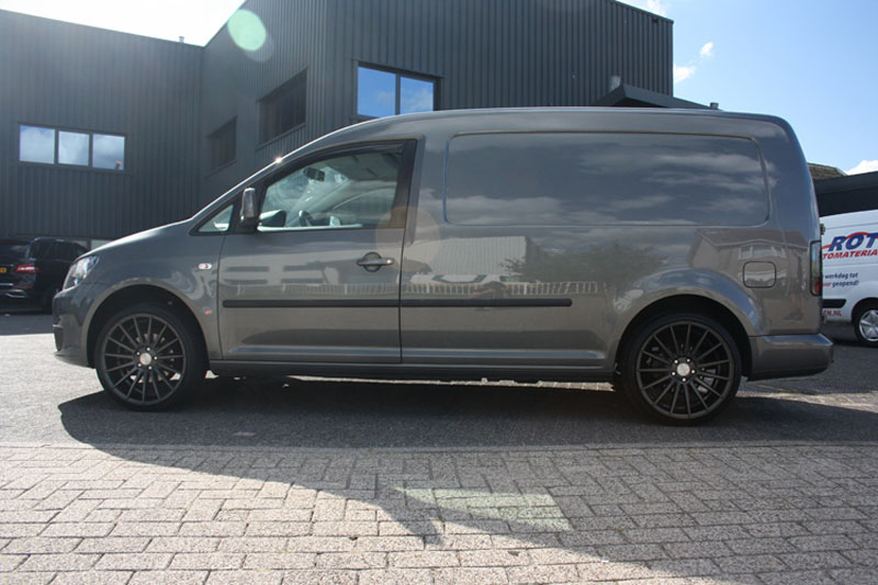 Volkswagen Caddy Met Veemann Vc7 Matt Graphite Velgen Giva