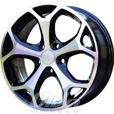 Devoted Wheels St Black With Polished Face Velgen Voor Een