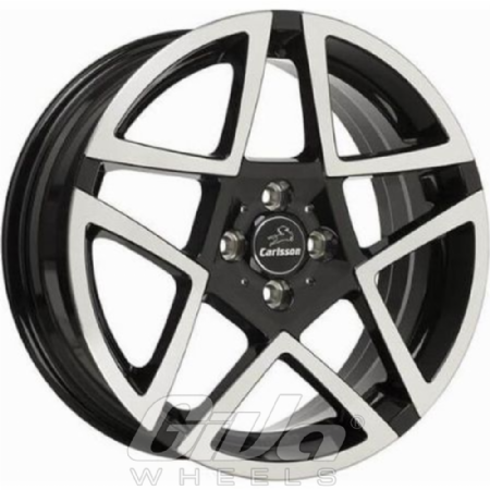 Carlsson 1-5 REVO III Black with polished face