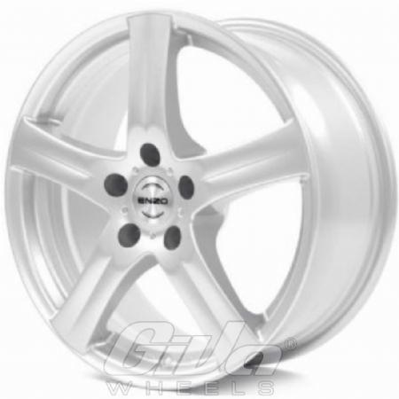 Enzo G Silver Velgen Voor Een Mini Clubman Giva Wheels
