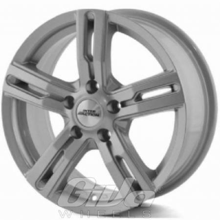 Inter Action Kargin Silver Velgen Voor Een Opel Vivaro