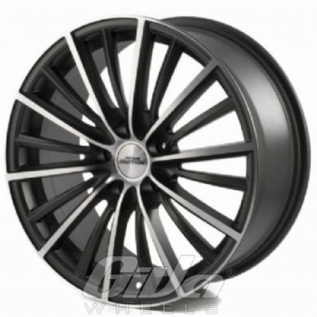 Inter Action Velocity Anthracite With Polished Face Velgen