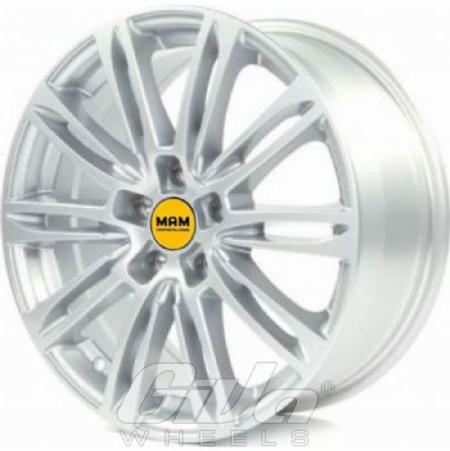 Mam A4 Silver Velgen Voor Een Nissan Murano Giva Wheels