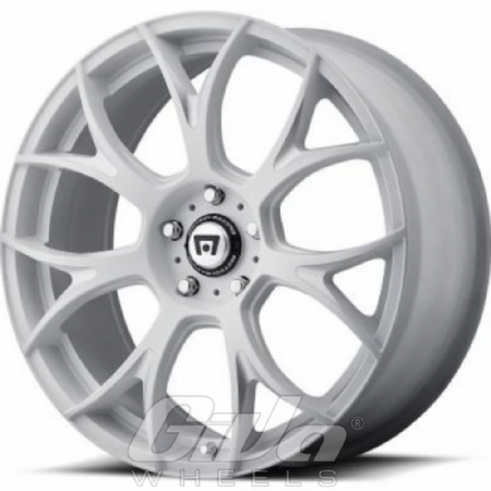 Motegi Racing MR126 Matt white with milled accents