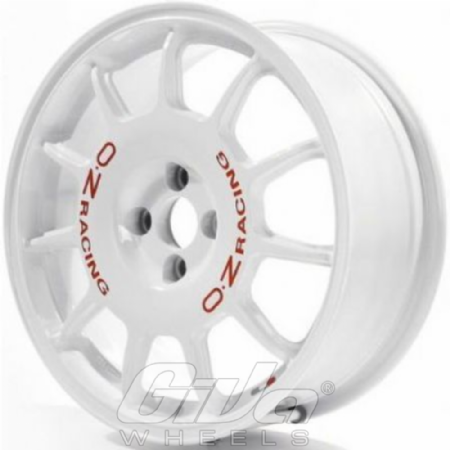 Oz Rally Racing White With Red Letters Velgen Voor Een Ford