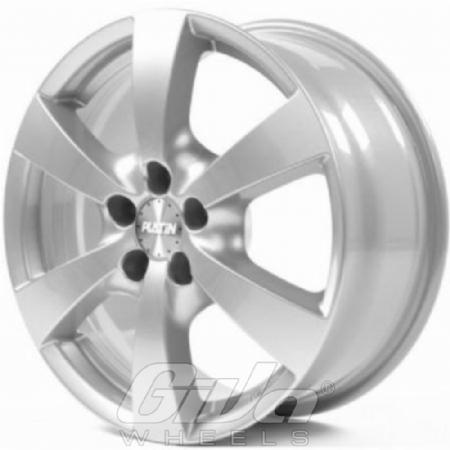 Platin P50 Silver Velgen Voor Een Chevrolet Epica Giva