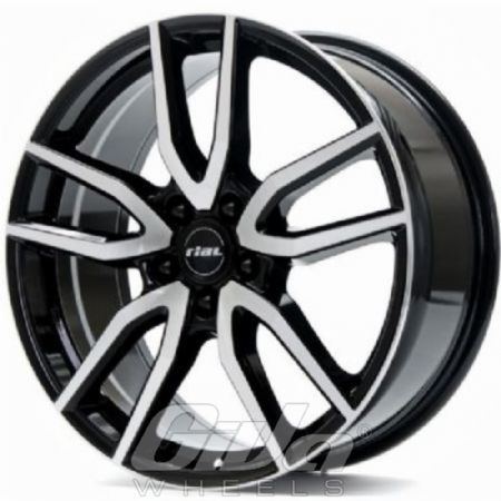 Rial Torino Black with polished face