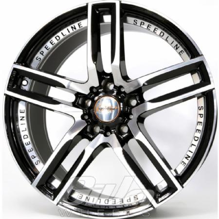 Speedline SL1 Imperatore Black with polished face