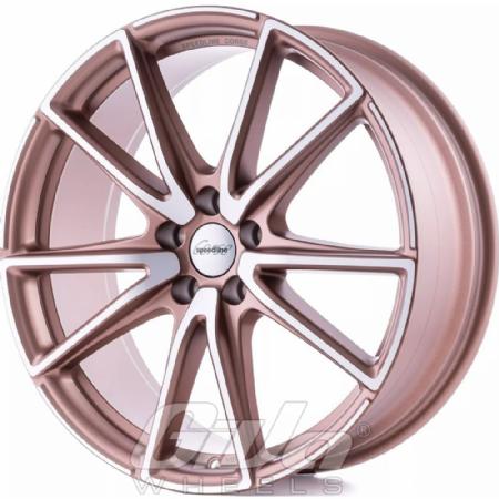 Speedline SL6 Vettore Matt bronze with polished face