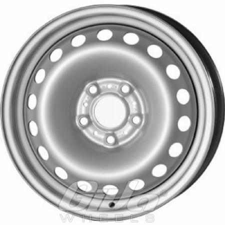 Steel Wheels 5h Silver Velgen Voor Een Bmw X1 Giva Wheels